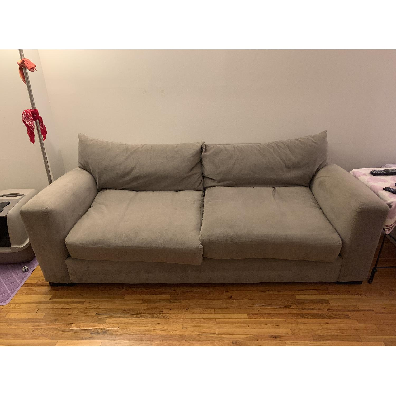 Raymour & Flanigan Grey Sofa - image-0