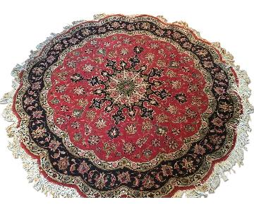 Vintage Persian Round Area Rug
