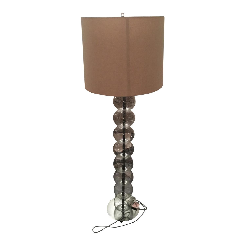 West Elm Abacus Glass Floor Lamp