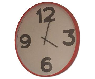 CB2 Oversized Wall Clock