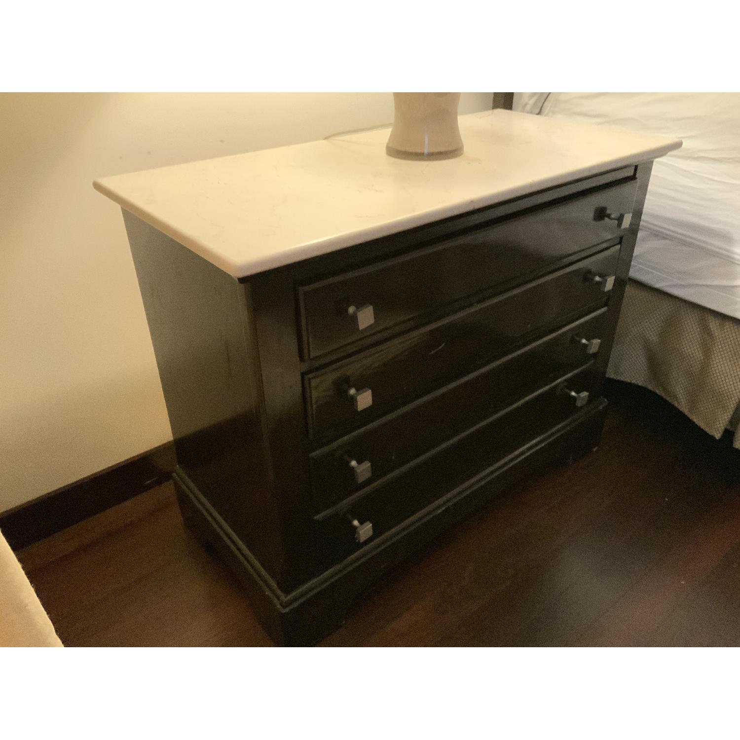 Bernhardt End Tables w/ Marble Tops - image-3