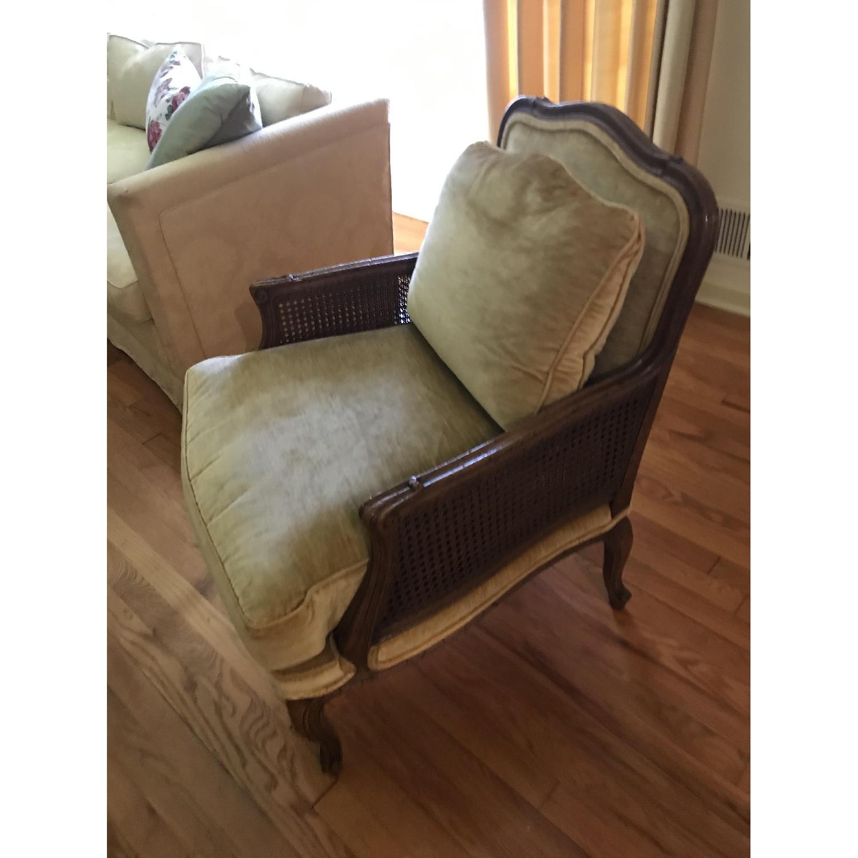 Knapp & Tubbs Vintage Bergere Chair - image-0