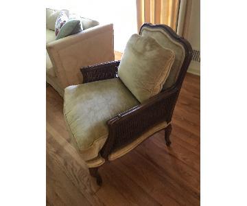 Knapp & Tubbs Vintage Bergere Chair