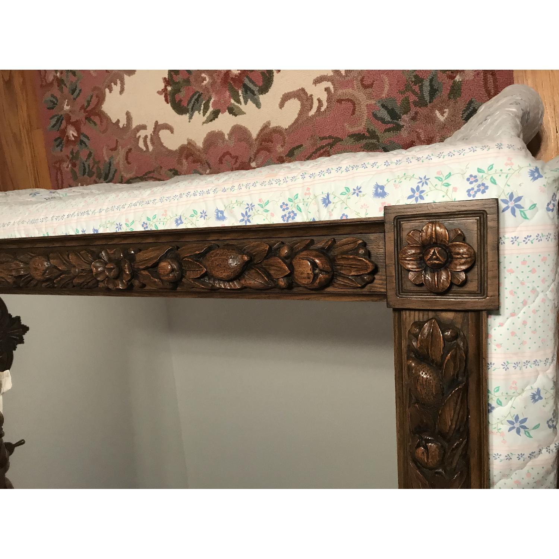 Karges Hand Carved Chestnut Mirror - image-3
