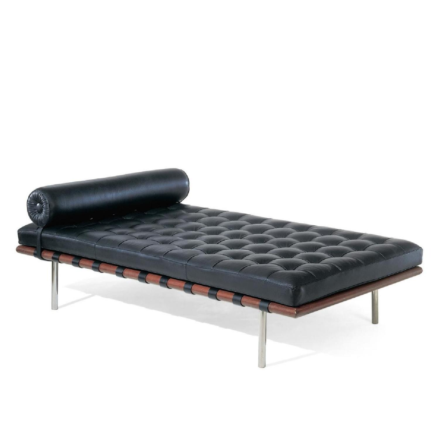 Mies van der Rohe Style Black Barcelona Daybed - image-0