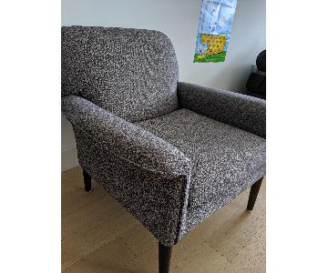 West Elm Everette Chair in Gray