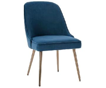 West Elm Mid-Century Velvet Chair