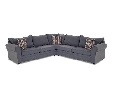 Bob's Venus 3-Piece Sleeper Sectional Sofa w/ 3 Pillows
