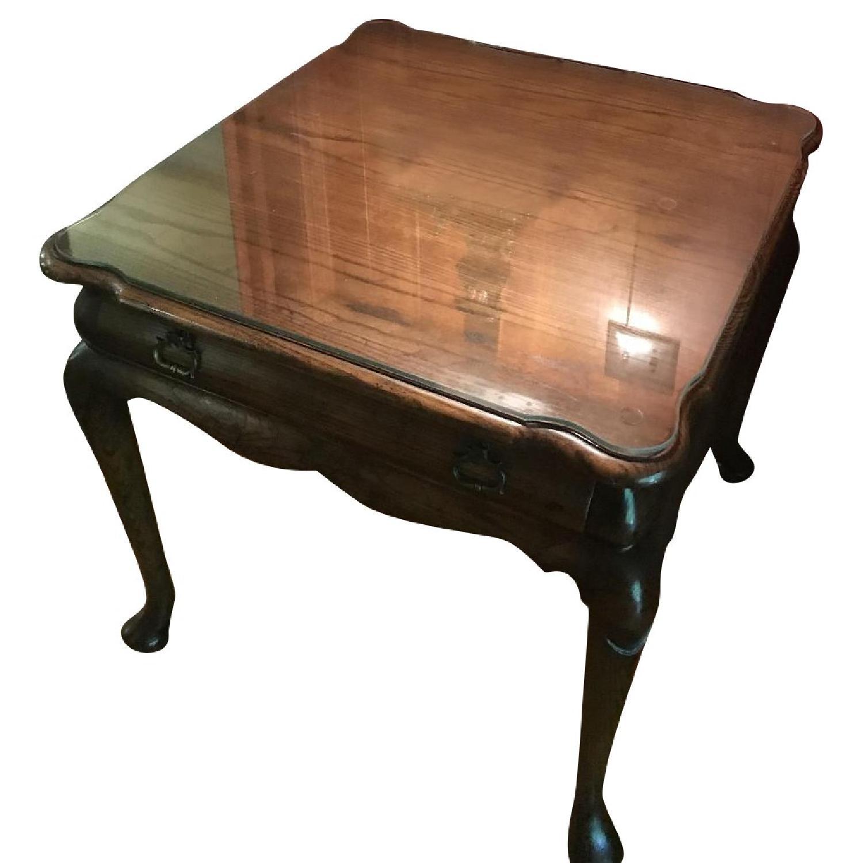 Vintage Mid Century Side Table - image-0