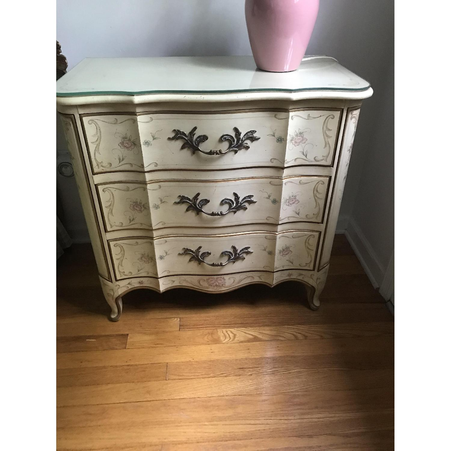 Karges Mid Century French Provincial Nightstands - image-1