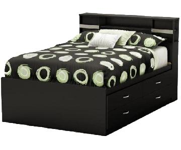 South Shore Step One 4-Drawer Full Size Bed w/ Headboard