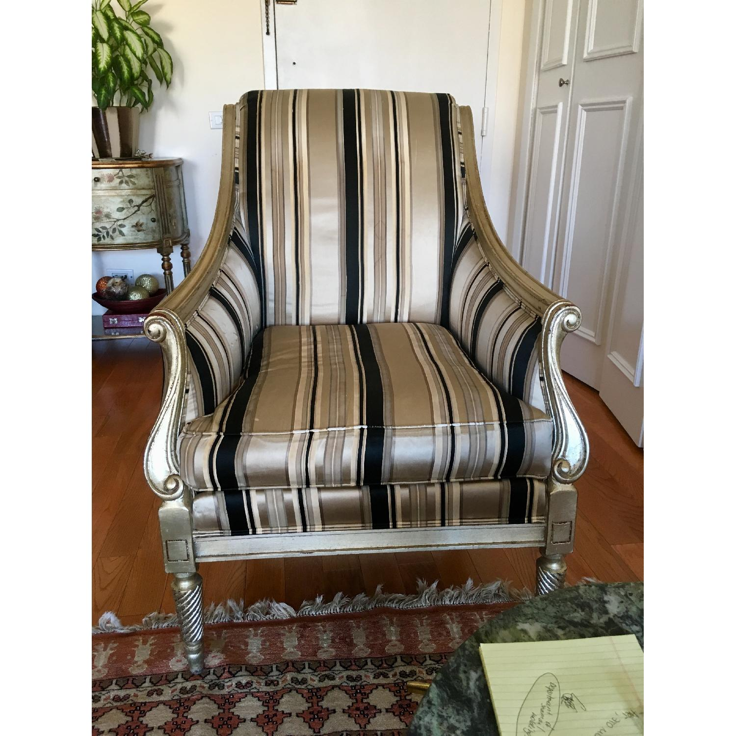 Drexel Heritage Classic Design Accent Chair - image-1