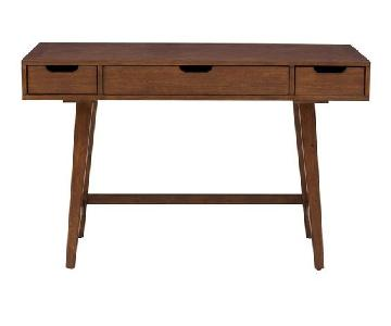 Langley Street Sverre Solid Wood Writing Desk