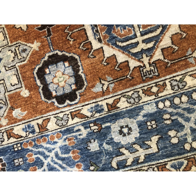 Pakistani Hand-Knotted Wool Kazak Rug - image-5