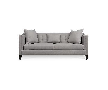 Macy's Braylei Fabric Track Arm Sofa