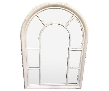 Arched Framed Mirror