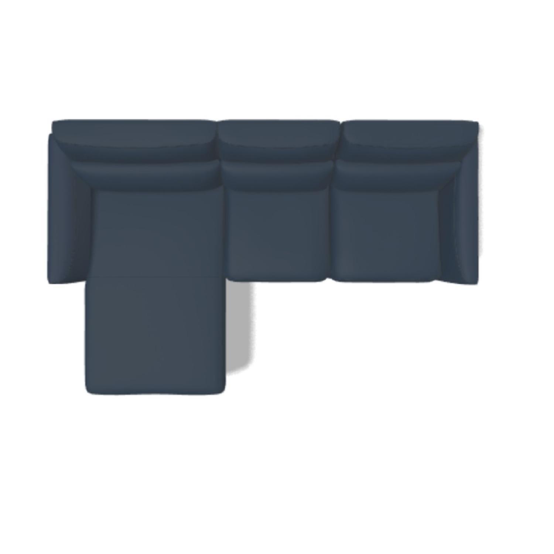 Natuzzi Italia Stan Leather Sofa - image-2