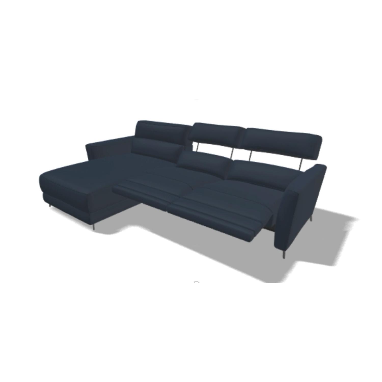 Natuzzi Italia Stan Leather Sofa - image-4