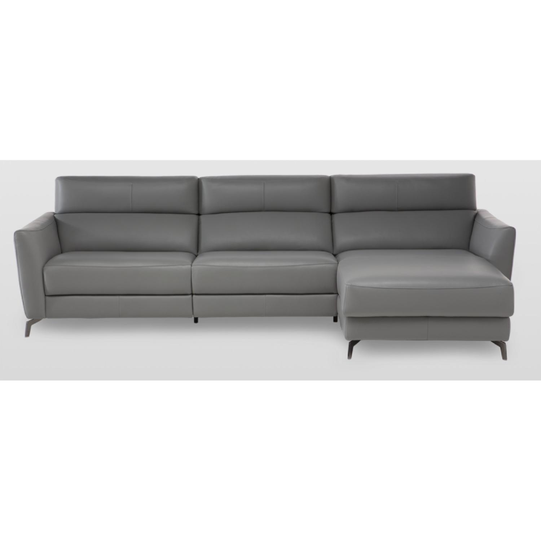 Natuzzi Italia Stan Leather Sofa - image-6