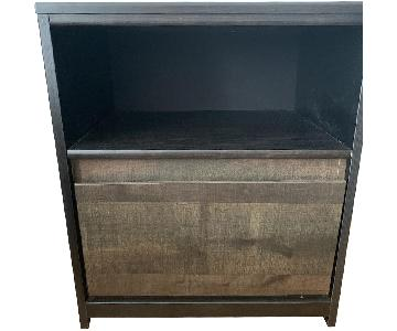 Dark Brown Side Table