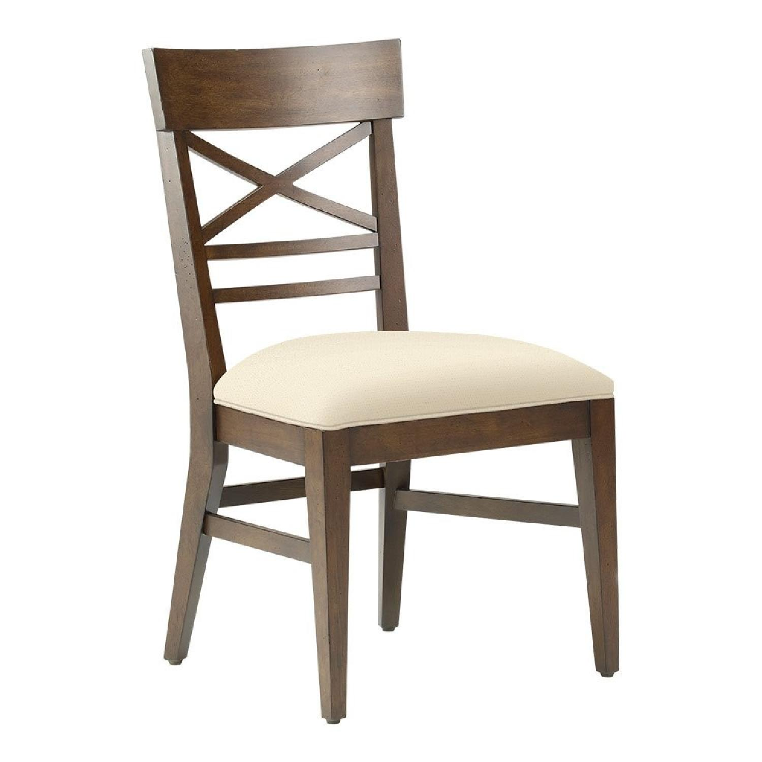 Ethan Allen Blake Side Dining Chairs