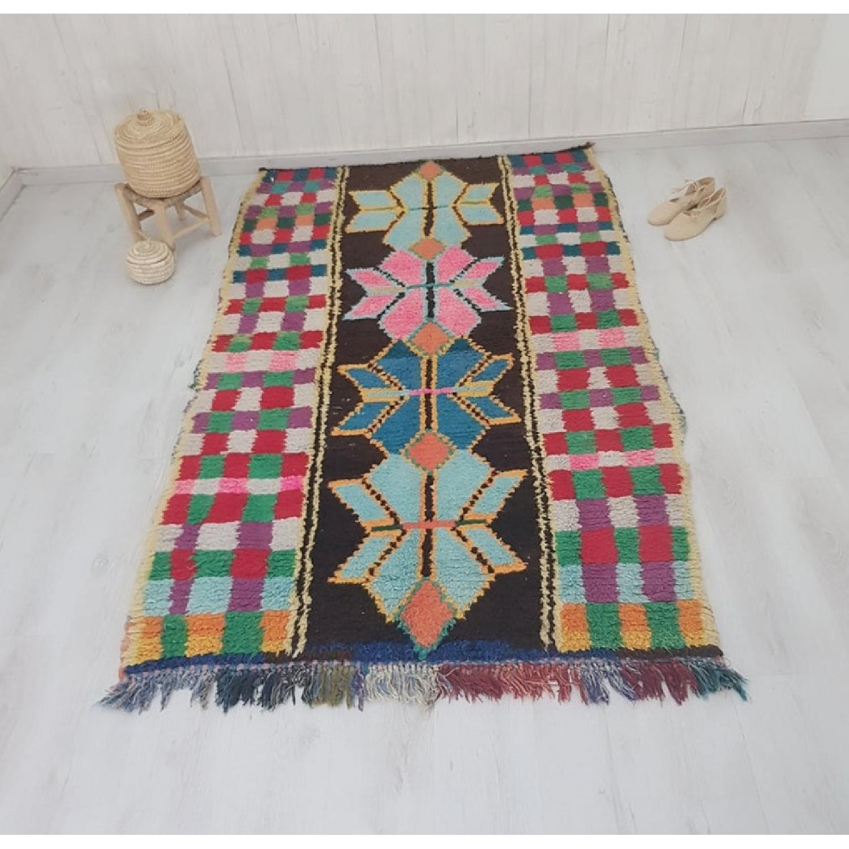 Handmade Vintage Moroccan Rug-0