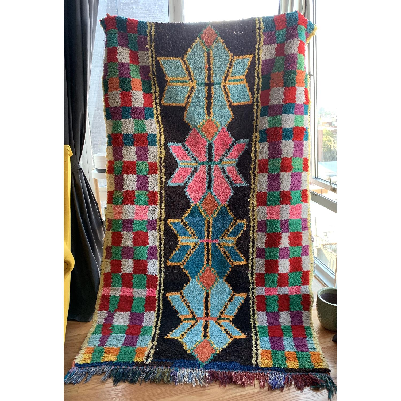 Handmade Vintage Moroccan Rug-1