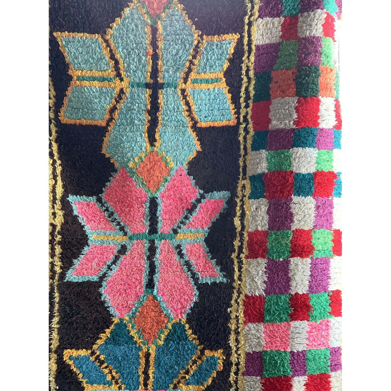 Handmade Vintage Moroccan Rug-3