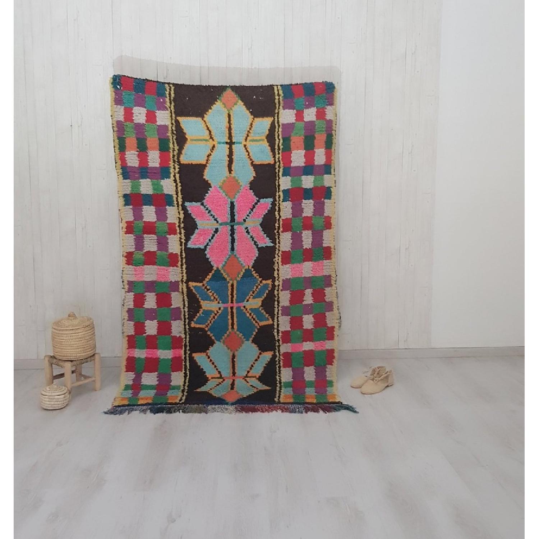 Handmade Vintage Moroccan Rug-4