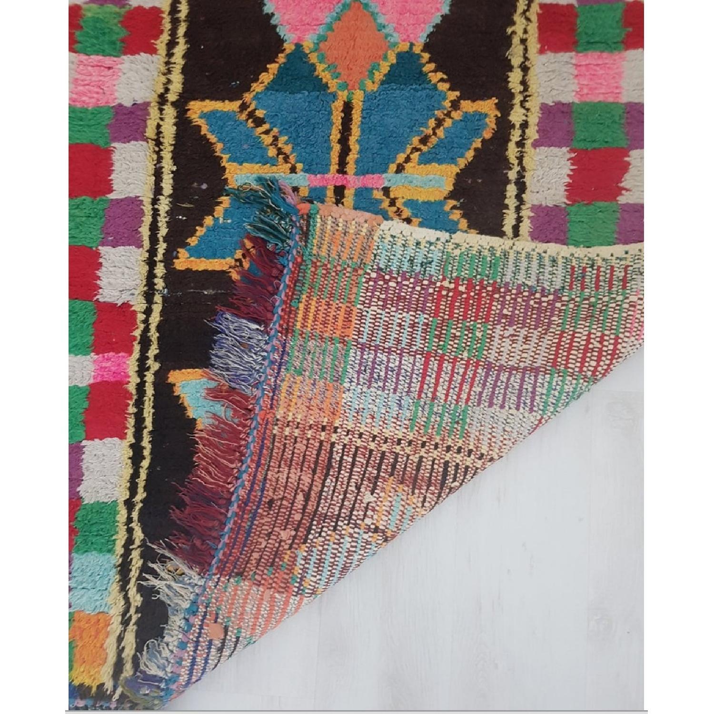 Handmade Vintage Moroccan Rug-5