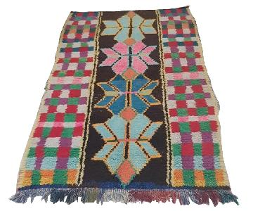 Handmade Vintage Moroccan Rug