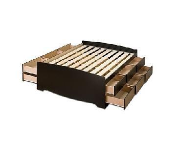 Captains 12-Drawer Platform Storage Bed