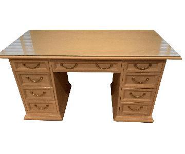 Hooker Furniture Wood Office Desk