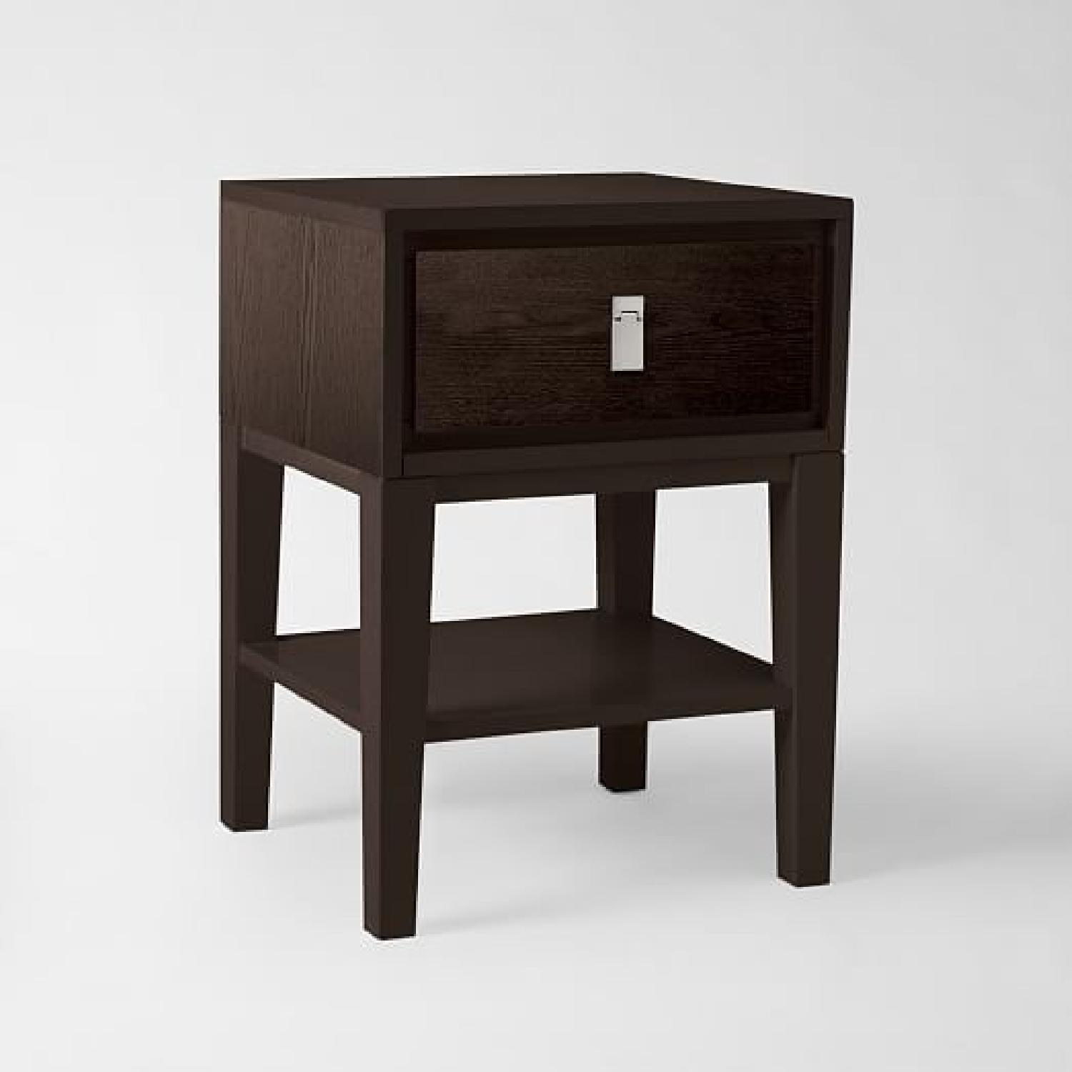 West Elm Niche Nighstand in Chocolate - image-1