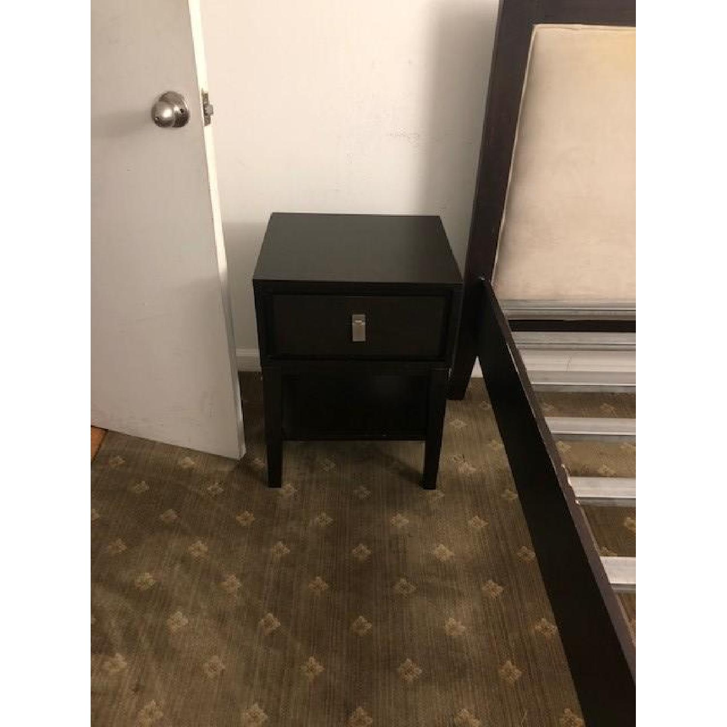 West Elm Niche Nighstand in Chocolate - image-2