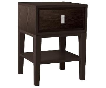 West Elm Niche Nighstand in Chocolate