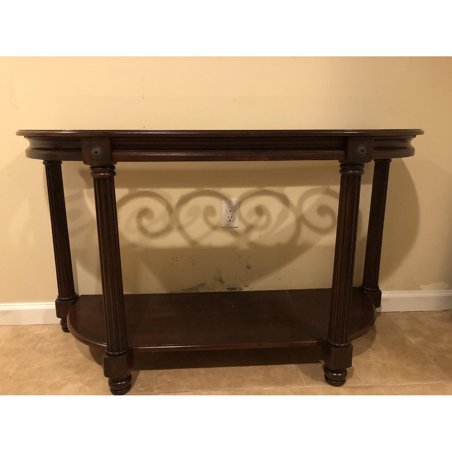 Raymour & Flanigan Sofa/Accent Table-2