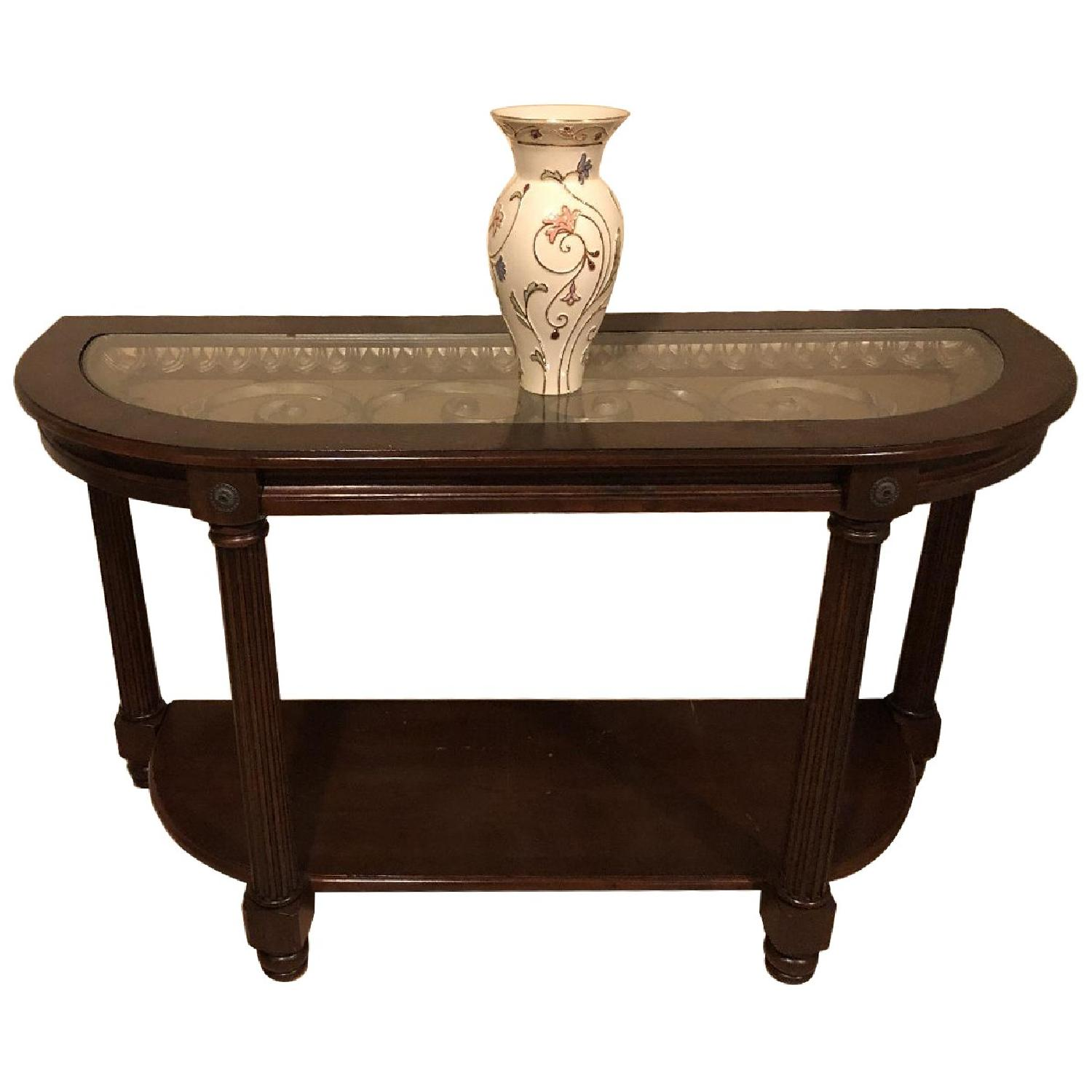 Raymour & Flanigan Sofa/Accent Table