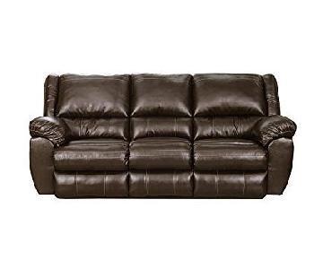 Bingo Brown Motion Reclining Sofa