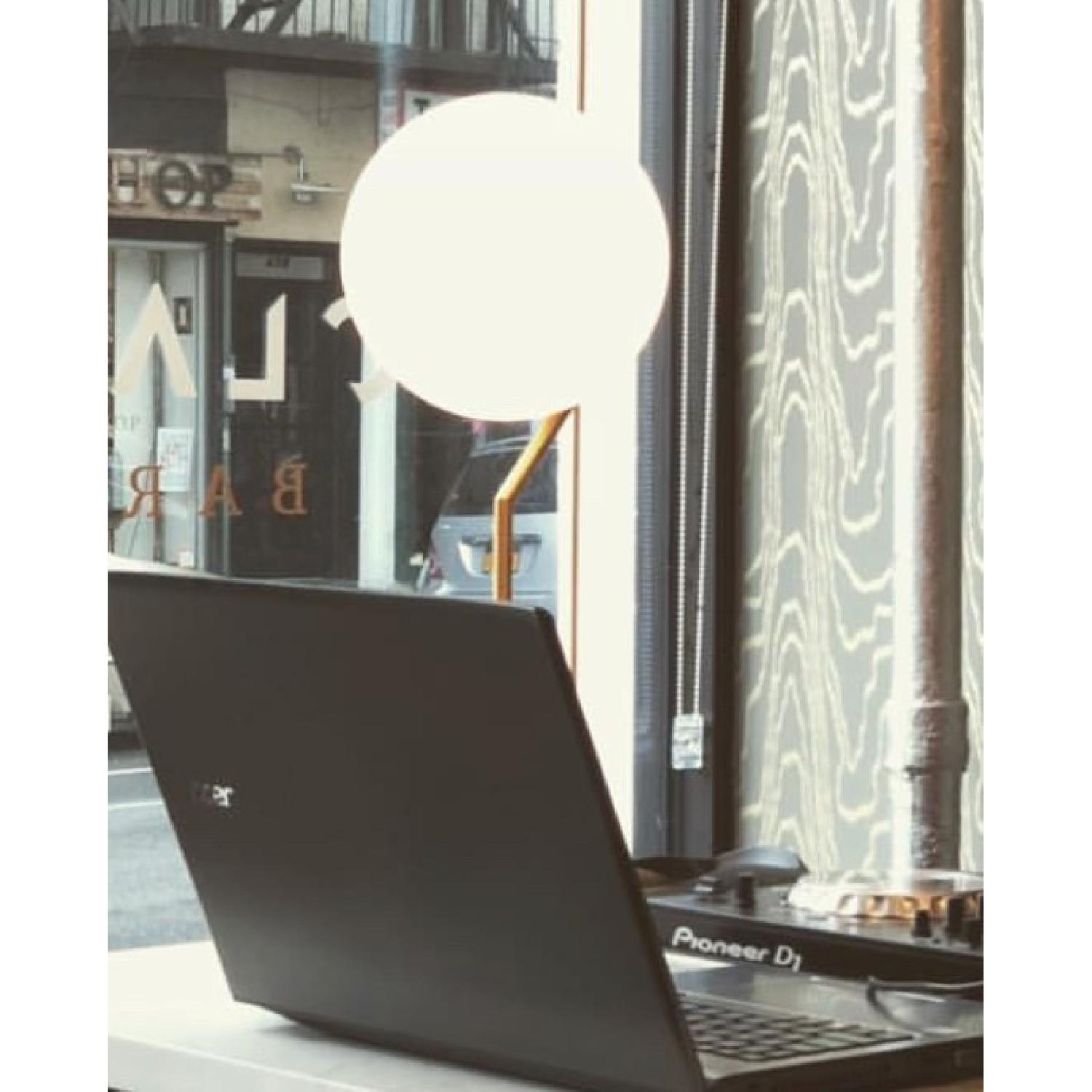 Flos Ic Lights T Brass Dimmable Table Lamp - image-1
