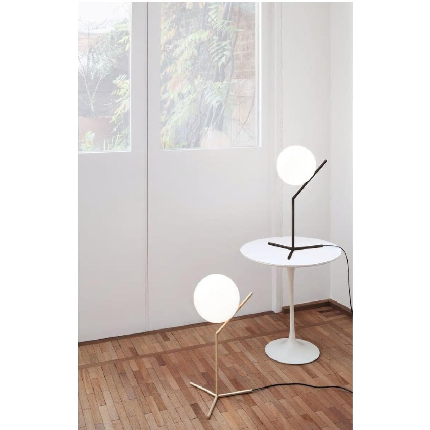 Flos Ic Lights T Brass Dimmable Table Lamp - image-3
