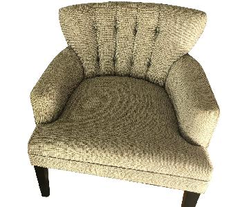 Grey Upholstered Armchairs