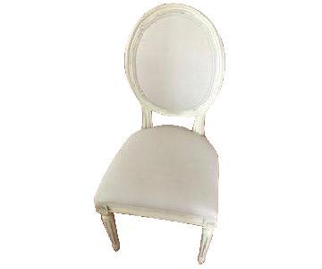 Restoration Hardware Mini Vintage Upholstered Chair