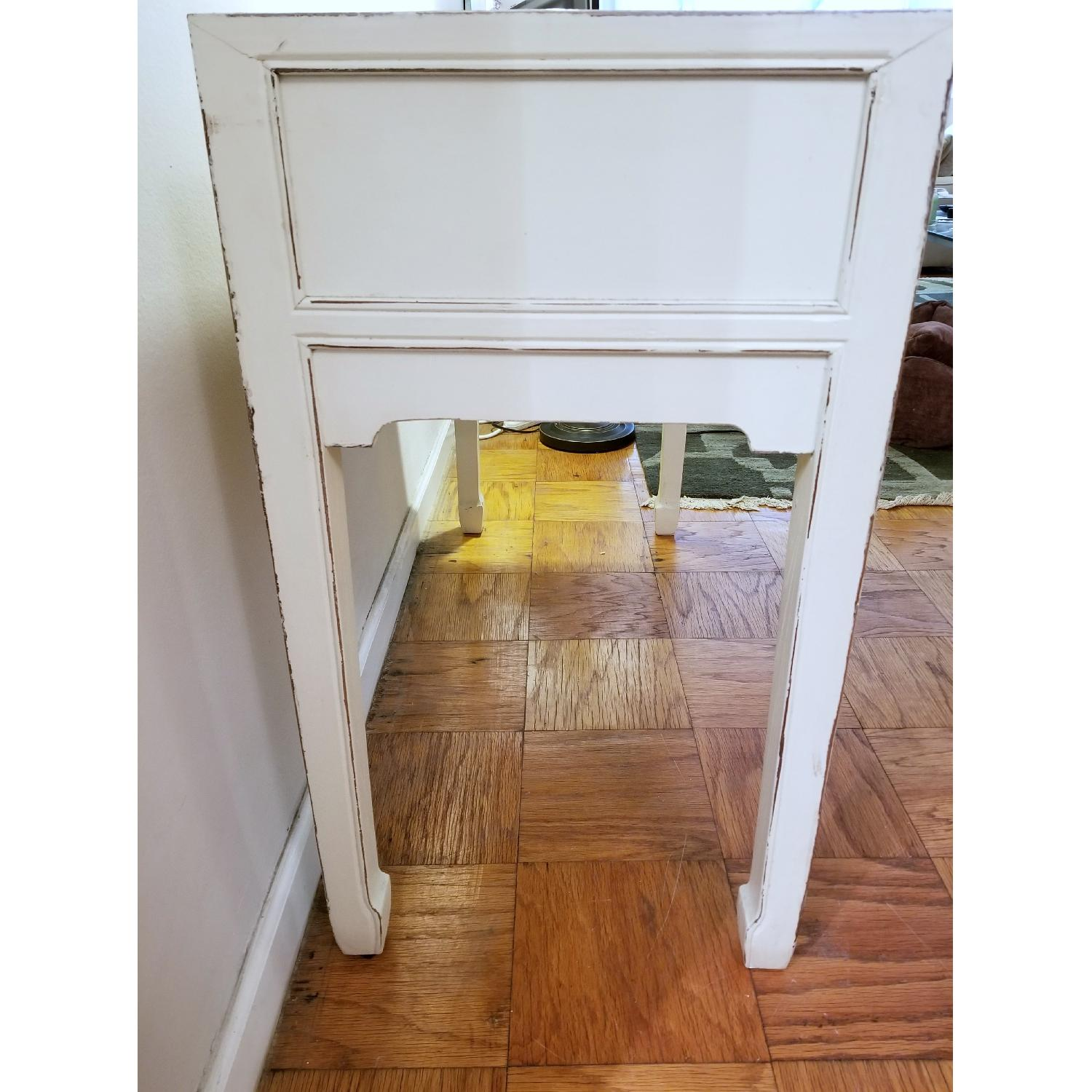 ... Solid Wood Handmade Shabby Chic Desk/Console Table 1 ...