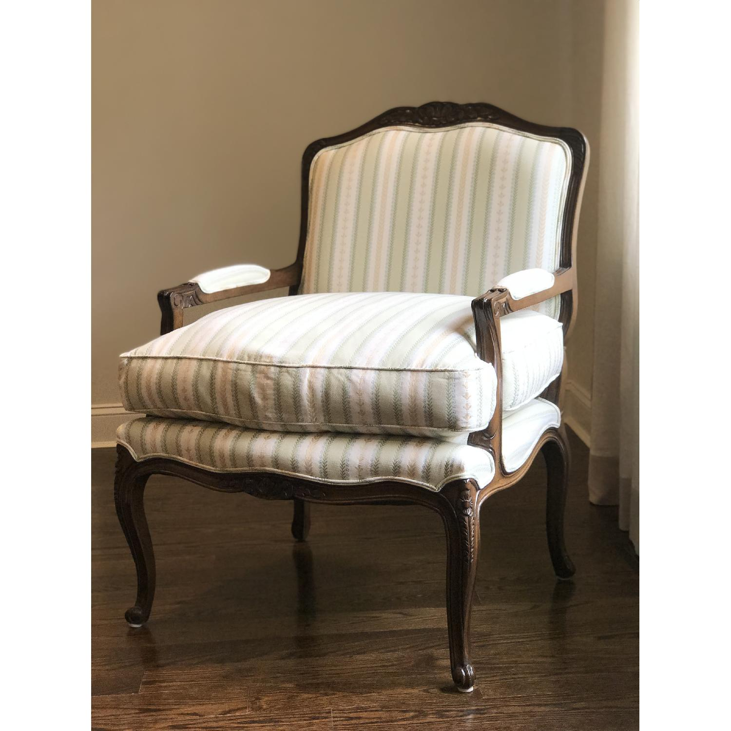 French Style Custom Bergere Chair - image-1