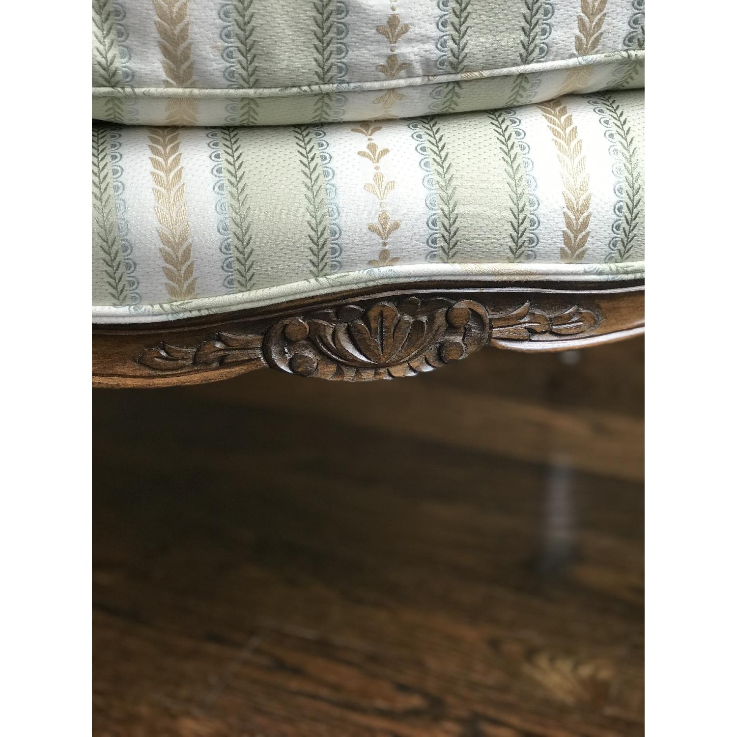 French Style Custom Bergere Chair - image-5