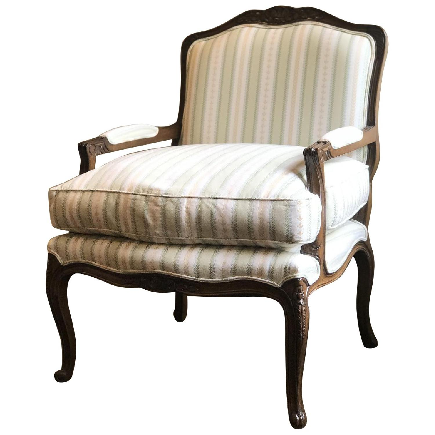 French Style Custom Bergere Chair - image-0