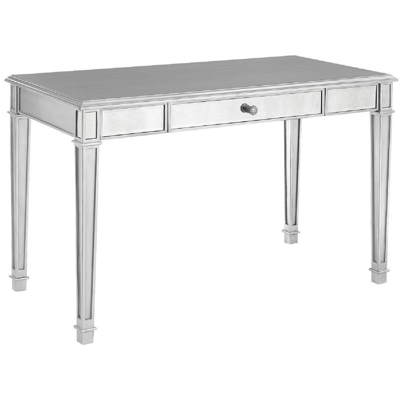 Pier 1 Silver Mirrored Desk