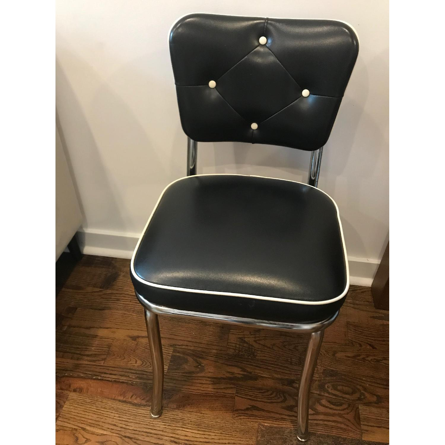 Richardson Seating Corp Lucy Diner Chairs in Black - image-1