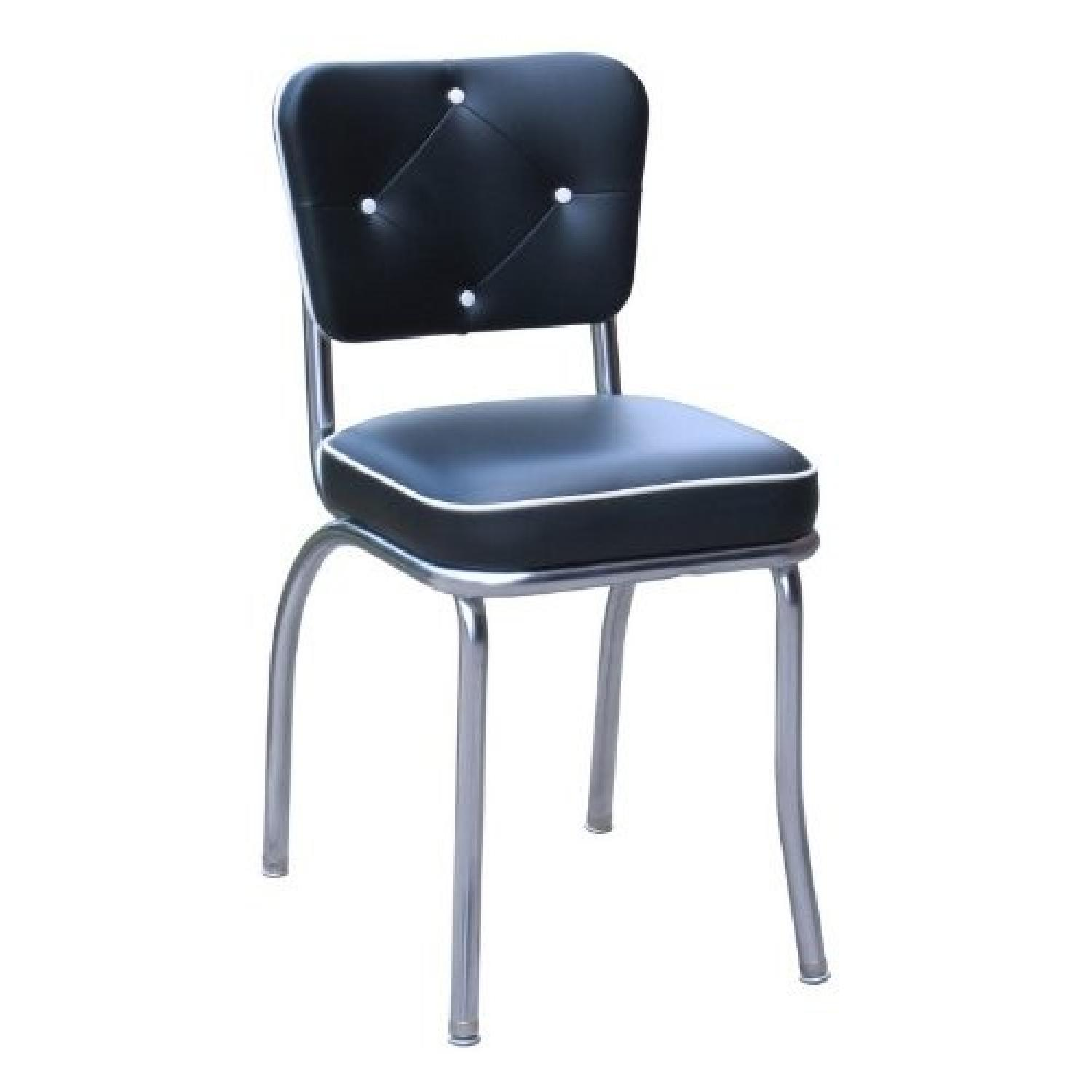 Richardson Seating Corp Lucy Diner Chairs in Black - image-0